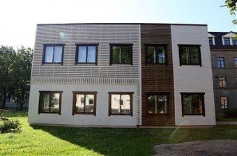 Теплоизоляционные панели на фасаде