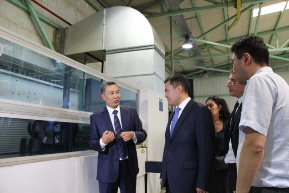 Предприятие Казахстана