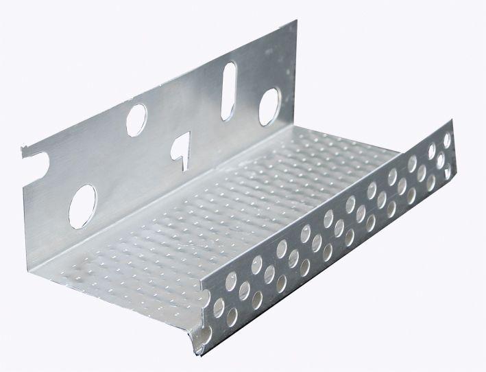 Алюминиевый цокольный профиль