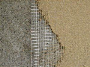Армирование поверхности полимерной сеткой
