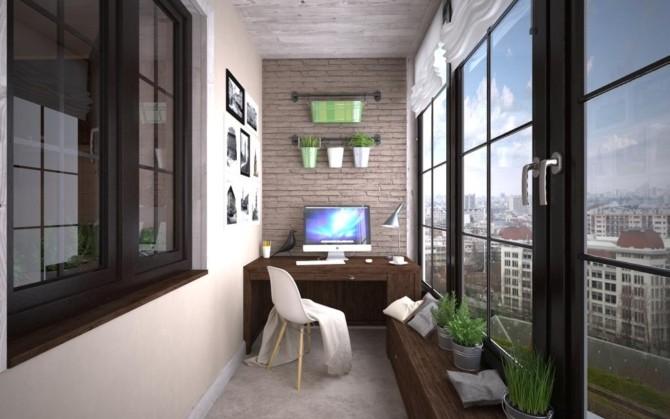 Основные способы обустройства балконов и лоджий