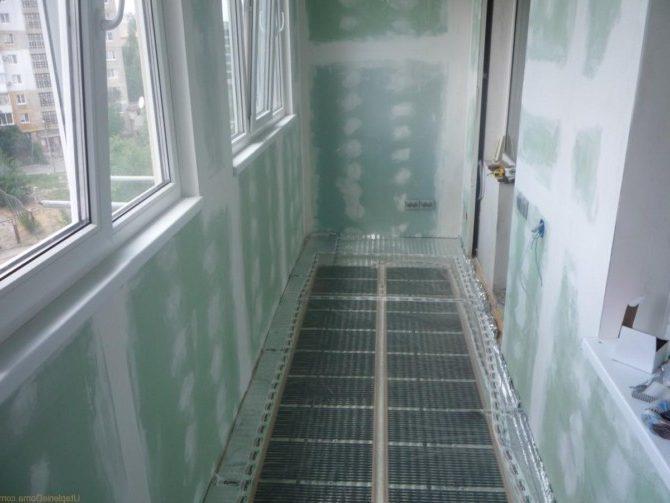 Утепление балкона или лоджии
