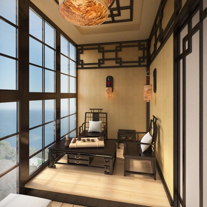 Дизайн балконов и лоджий