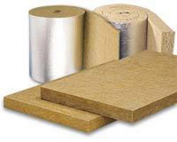Базальтовая вата выпускается в виде плит и рулонов