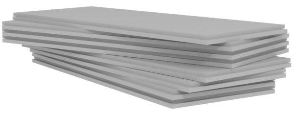 Частицы углерода придают плитам серый оттенок.