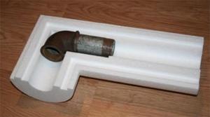 Для работы на поворотах и кранах предусмотрены специальные фасонные изделия.