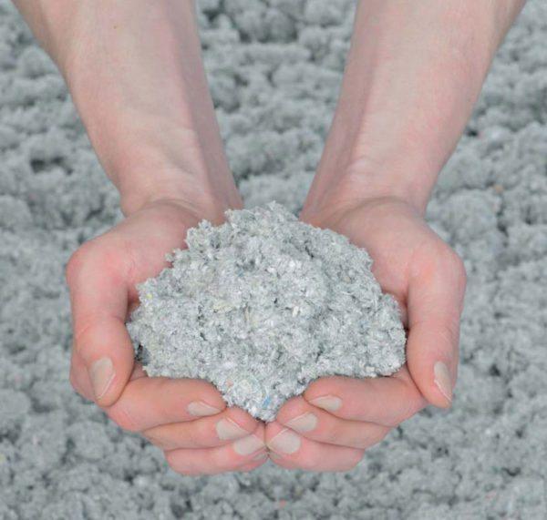 Эковата — экологичный материал на основе целлюлозы