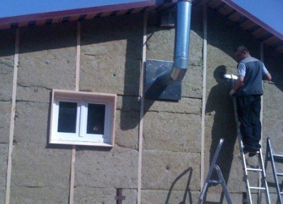 Утепление дома из бруса и видео СТФ Декор