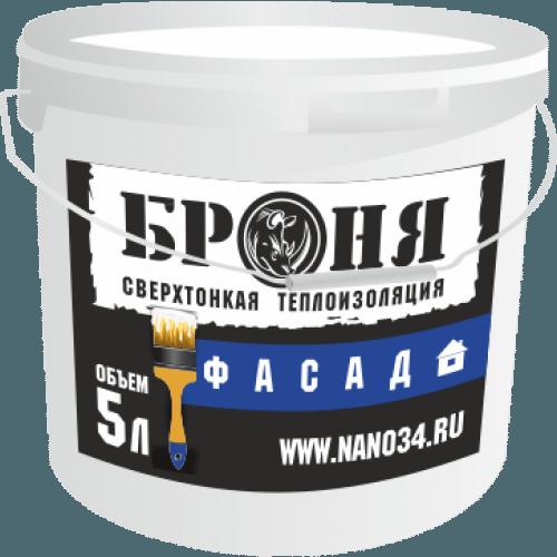 Фасад — базовая модификация теплоизоляционных шпаклевок