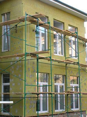 Фасадный базальтовый утеплитель под последующее оштукатуривание
