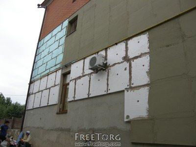 Финишные работы по отделке утепленного фасада