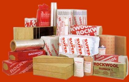 Фото – Ассортимент продукции торговой марки rockwool
