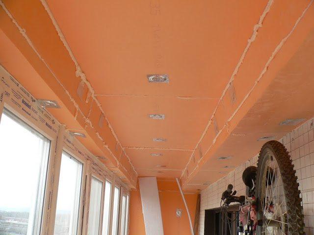 Утепление потолка изнутри своими руками: бетоннного, как уте.