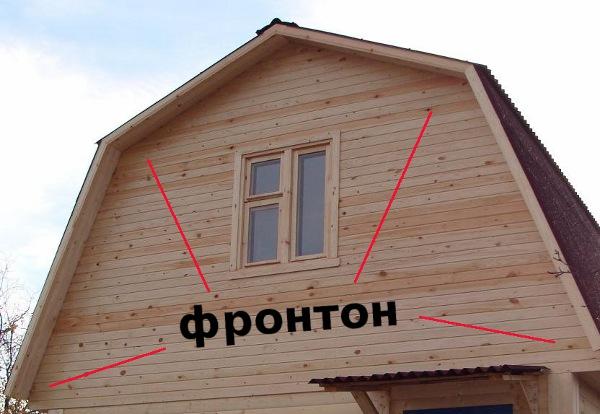 фото фронтон