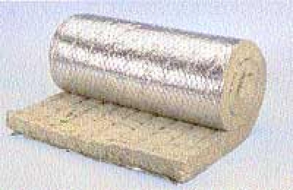 Фото минеральной ваты, да еще и со слоем фольги.