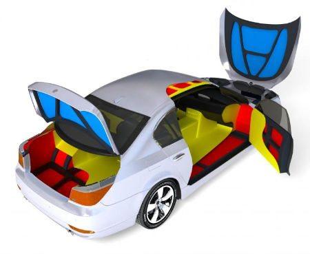 Фото: монтируем защиту машины