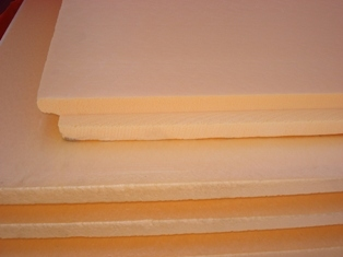 Фото стандартной плиты с четвертью по краю