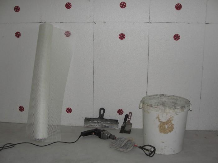 Как утеплить стену пенопластом внутри
