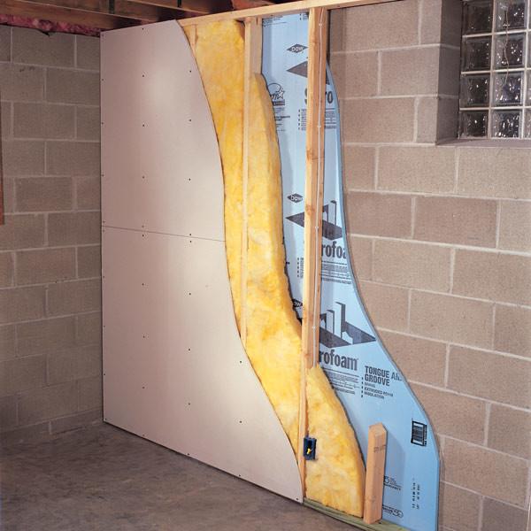 Фото: Утепление стены минеральной ватой