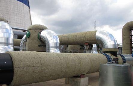 Фото: Утепление трубопровода