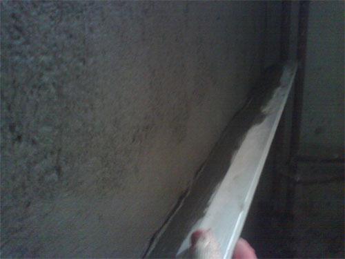 Фото; выравнивание поверхности стен