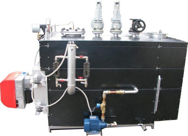 Газовый генератор пара высокой мощности.
