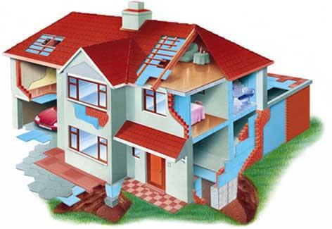 Где необходима энергосберегающая облицовка в доме