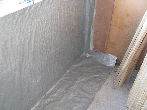 Гидро-пароизоляция балкона