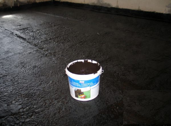 Гидроизоляция бетона мастикой