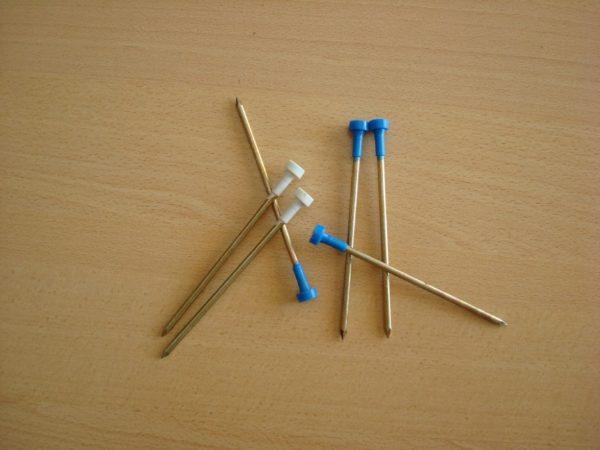 Гвозди со стационарными термоголовками удобнее в использовании