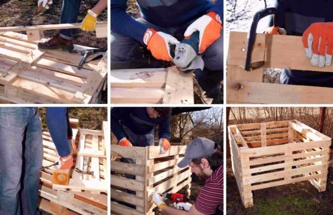 Как сделать компостный ящик своими руками