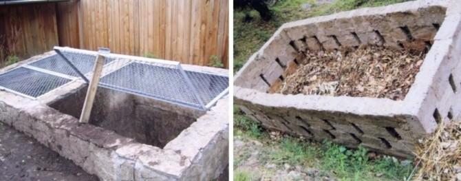 Как неправильно делать компостную яму
