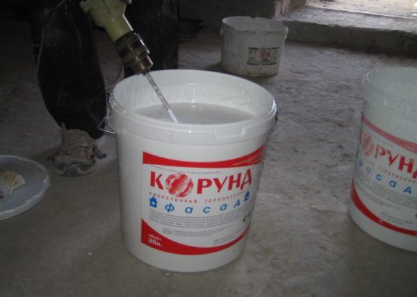 Идеально белый цвет «Корунда» — одно из его достоинств в качестве отделочного материала