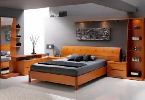 Модульная мебель в комнате стиля минимализм