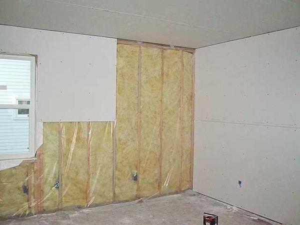 Закрытие и выравнивание стен гипсокартоном