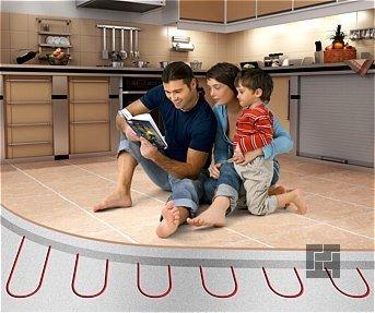 Игры для детей на тёплом полу, а не на холодном