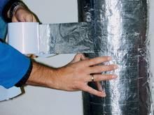 Использование ленточного теплоизолятора