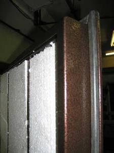 Использование пенопласта для работ по теплоизоляции полотна