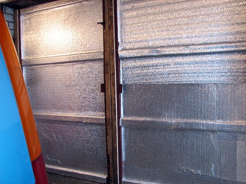 Утепление металлического гаража своими руками
