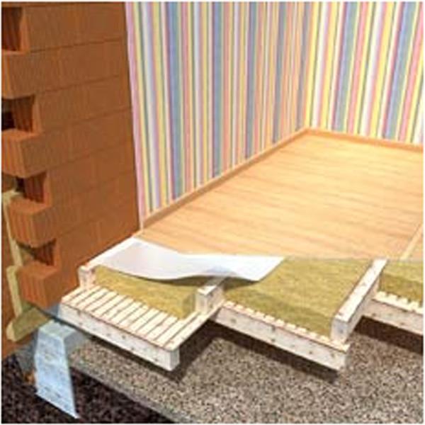 Как бы вы не ответили себе на вопрос, чем лучше утеплить пол в деревянном доме, всегда стремитесь вот к такой многослойной структуре, именно она, в конце концов, и является гарантией сбережения тепла
