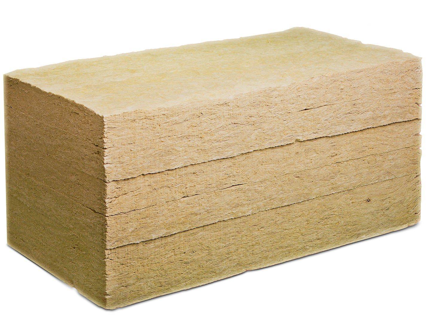 Каменная вата — распространенный теплоизоляционный материал в виде плит или матов
