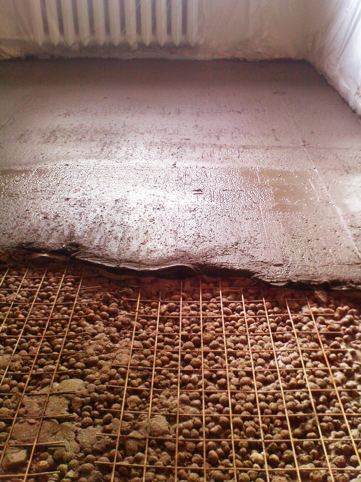 керамзит под пол