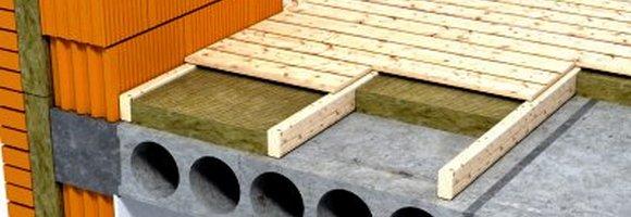Конструкция деревянного пола в кирпичных домах