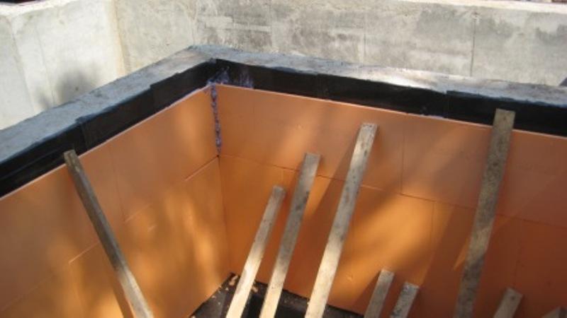 Крепление пенопластовых плит