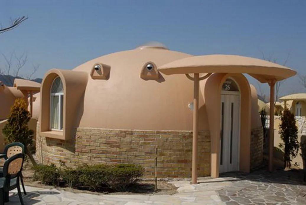 Купольные дома — самый дешевый способ строительства из пенопласта