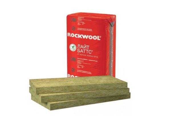 Лайт Баттс — аналогичный материал от Роквул для утепления стен