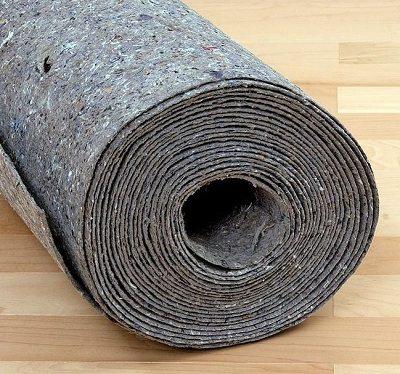 Лен, шерсть, джут – составляющие подложки.