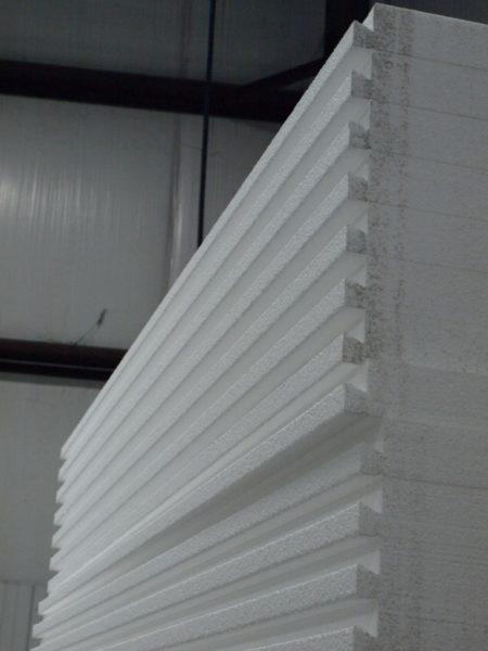 Материал с низким уровнем плотности производится при многократном вспенивании.