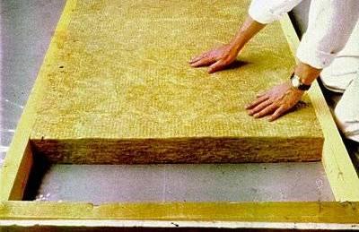 Маты утеплителя на бетонный пол