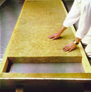 Минеральная вата для выполнения теплоизоляции стен